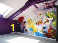 Disney Wall Murals Girl Room Disney Themed Rooms Disney Bedrooms Bedroom Wall