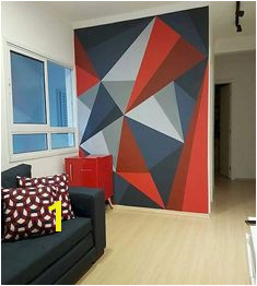 Do It Yourself Wall Murals 20 Diy Painting Ideas for Wall Art Accent Walls Pinterest