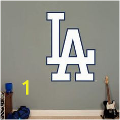Put your passion on display with a giant Los Angeles Dodgers Alternate Logo Giant ficially Licensed MLB Removable Wall Decal Fathead wall decal