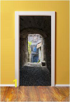 Amazon 32x80 Canvas 3D Door Sticker Murals PEEL &
