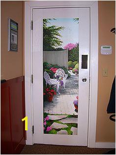 Trompe l oeil Door Mural by The Art of Life