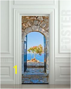 Door STICKER Greek arche decole Unbranded Wall Stickers 3d Removable Wall Stickers Stickers