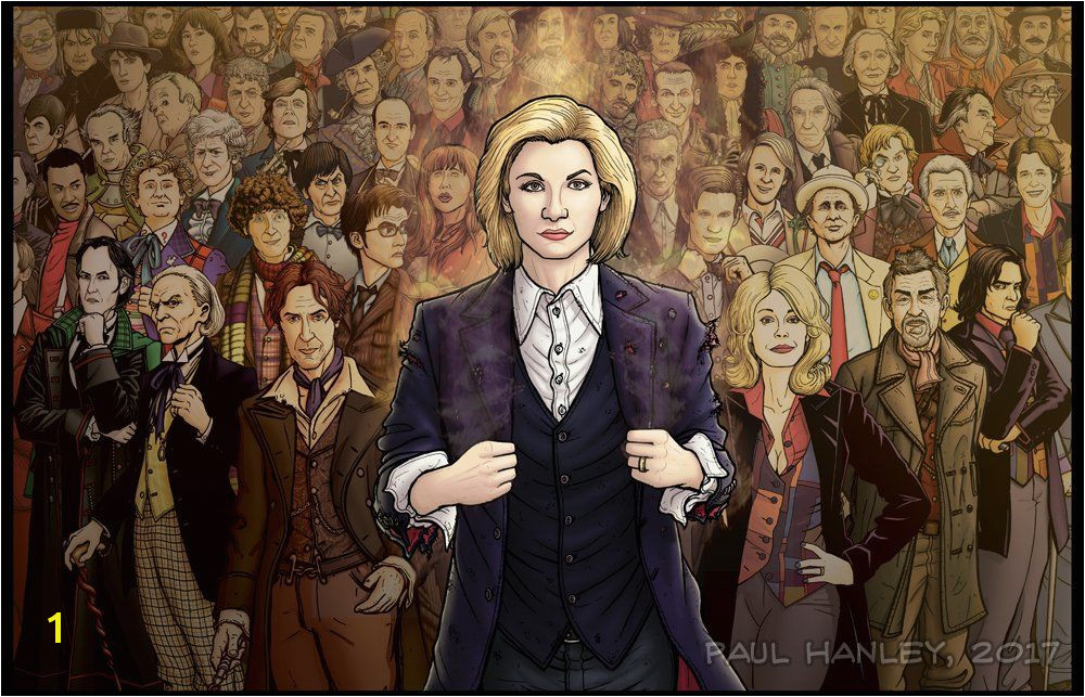 "Doctor Who Today on Twitter ""All the Doctors by Paul Hanley DoctorWho s"