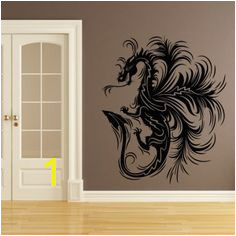 Dragon Print Decorative Wall Art Stickers Decal Mythical Creatures Fantasy Dragon Print Kitchen