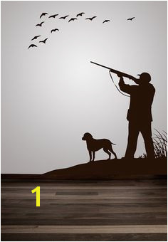 Hunting Nursery Duck Hunting Hunting Dog Decals Hunting Wall Decal Hunting Art Flying Geese Hunt Scene Hunting Decals Hunting Decor