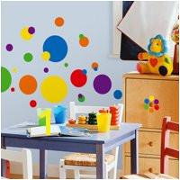 Product Image RoomMates Primary Colors Just Dots Peel & Stick Wall Decals