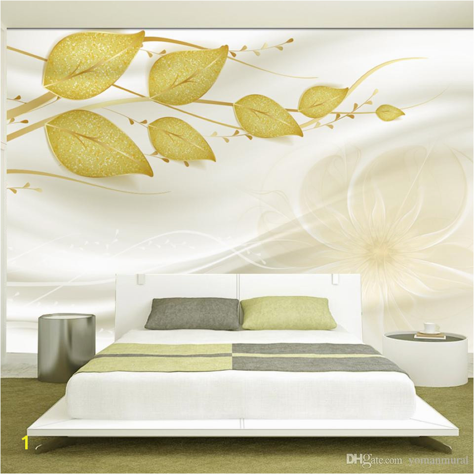 Custom photo 3d wallpaper Non woven Fabric mural wall Green vine space 3 d TV