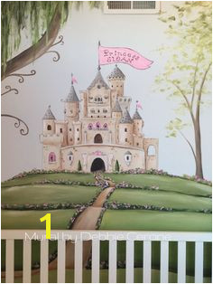castle mural for little princess this close full wall Playroom Mural Kids Room Murals