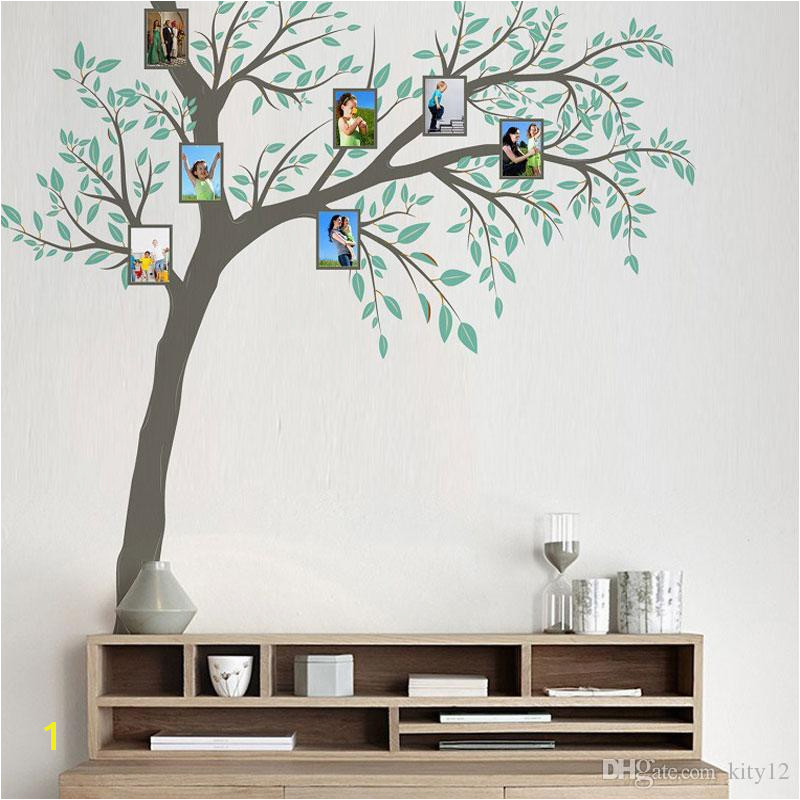 New Family Frame Tree Wall Sticker Home Decor Living Room Bedroom Wall Decals Poster Home