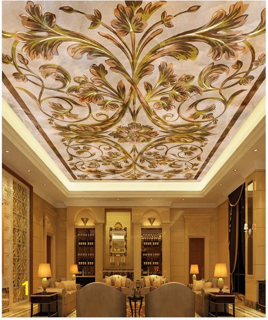 European marble ceiling 3d wallpaper modern for living room murals ceilings 3d mural paintings