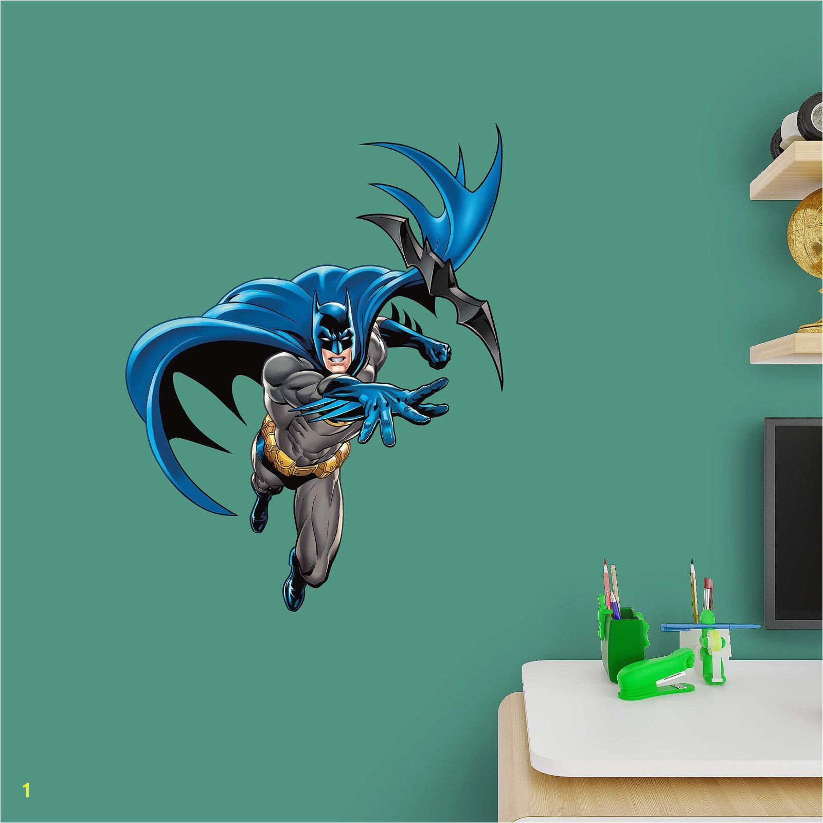 Fathead Batman in Action Junior Wall Decal 15