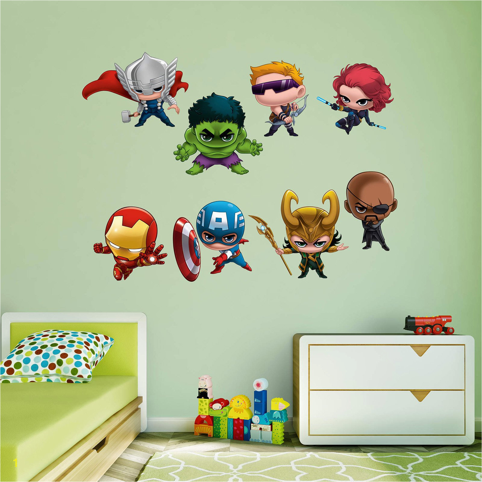 Fathead Marvel Team Up Wall Decal Collection