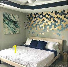 26 Easy DIY Decor Projects and Stencil Ideas from Creative Customers on Instagram Wall Stencils