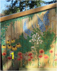 painted fences murals backyard fence murals garden mural on chicken coop free hand painting with acrylic paint garden city hotel careers indian home color