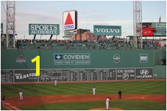 Fenway Park Green Monster Citgo sign Boston