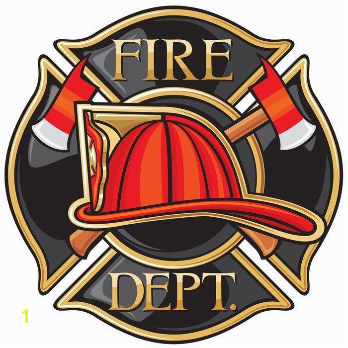 Fire Department or Firefighters Maltese Cross Symbol Vinyl Wall Mural ✓ Easy Installation ✓ 365 Day Money Back Guarantee ✓ Browse other patterns from