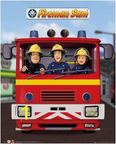 Fireman Sam Children School Bags Cartoon Prints Brave New Rescues Boys Favorite Students Kindergarten Kids Bag Mochila