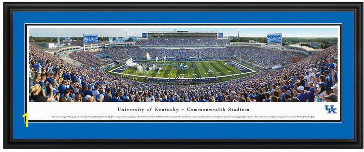 Kentucky Wildcats Football Stadium Framed Wall Art