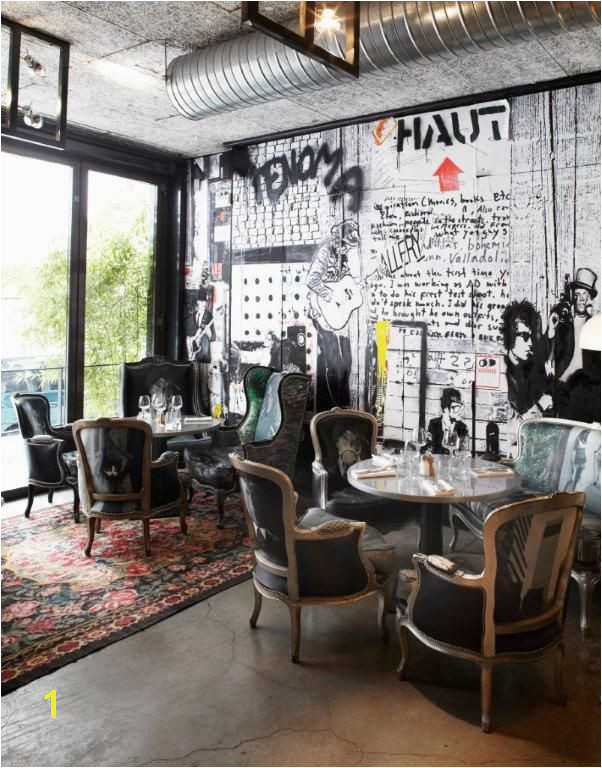 French Cafe Wall Murals Renoma Café Gallery Restaurant&coffe