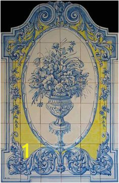 French Tile Murals 1380 Best Tile Murals Images In 2019