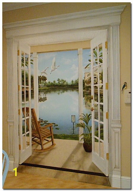 Celebration Florida Trompe L oeil Mural by Art Effects