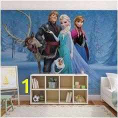 Elsa & Anna Frozen Disney wall mural