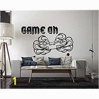 Gamer Video Game Wall Decals Controller Stickers Home Decor Customize for Kids Bedroom Vinyl Wall Art