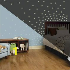 180 Piece Glow in The Dark Dots Wall Decal Kids House Roommates Disney Wall