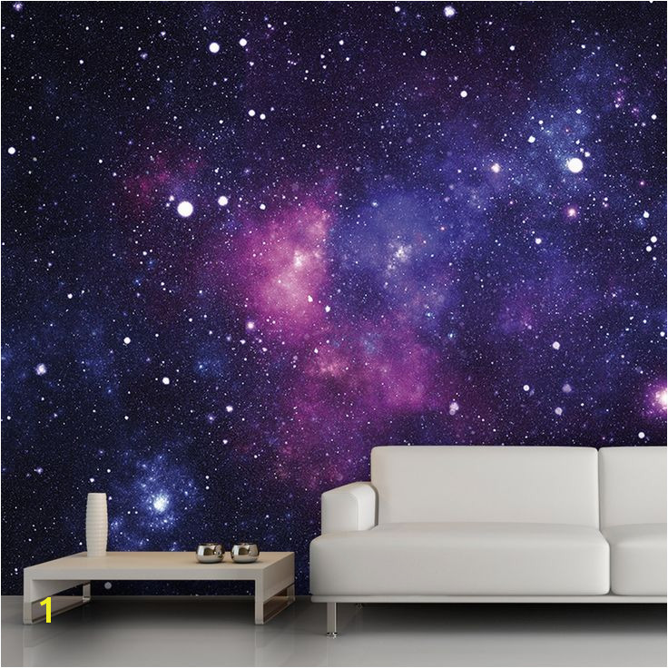 Galaxy wall mural 13 x9 $54 trying to think of cool wall decor for practice rooms and or hang space tied in to songs …