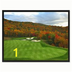 Halfmoon Bay Golf Course Canvas Print Frames Home Décor Wall Art Gifts Gifts For