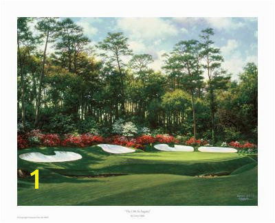 Beautiful Augusta National Golf Club artwork for sale Posters and Prints