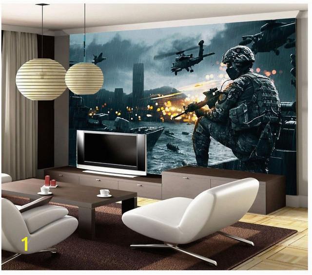 Golf Wallpaper Murals 3d Customized Wallpaper Gulf War Movie Backdrop Photo Mural