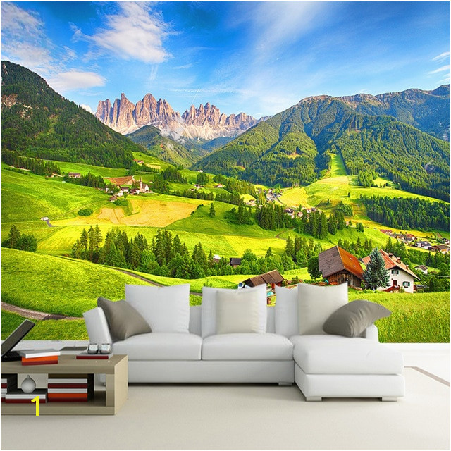 Custom Wall Paper 3D Nature Landscape Bedroom Living Room TV Background Decoration Wallpaper Wall Mural