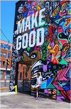 Ups and Downs part of life Make good Do good Street Paint Toronto City of Canada Exploring Graffiti Alley in Toronto Votre boutique d art