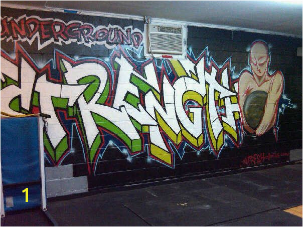 graffitti art for gym Google Search