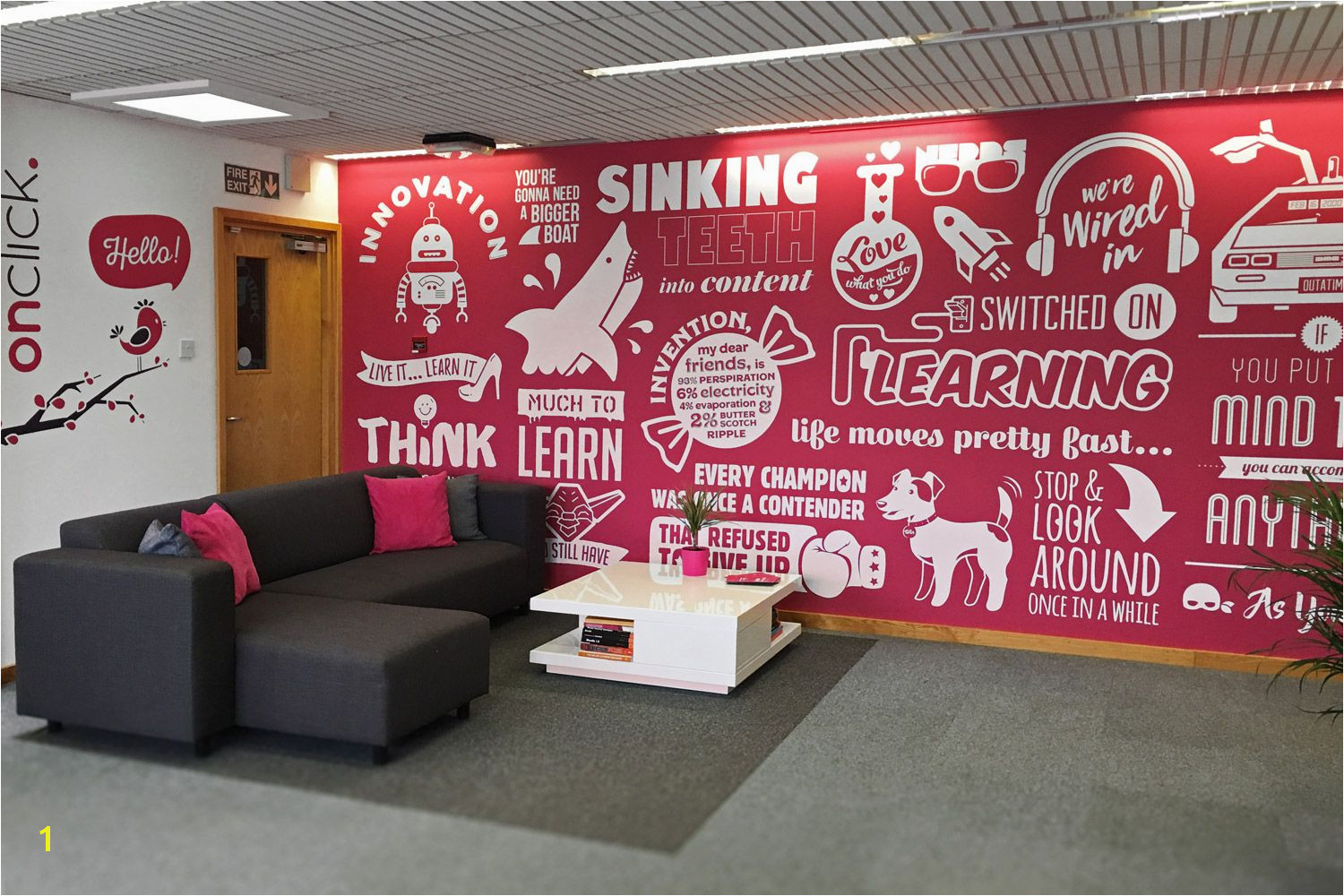 Image result for office wall murals