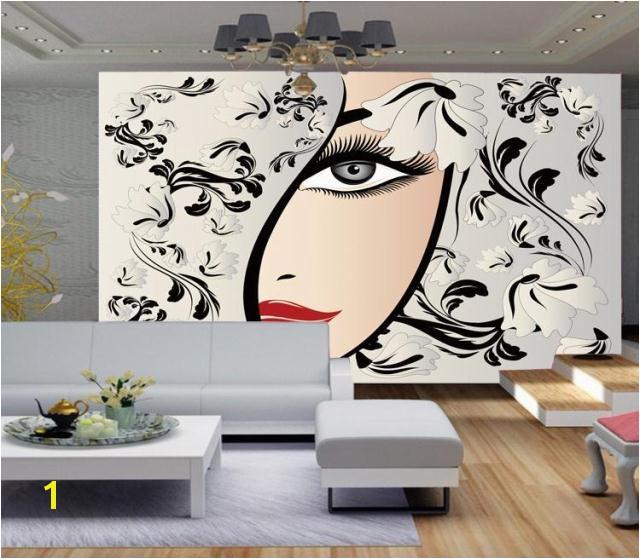 Hair Salon Wall Murals Custom Any Size 3d Wallpaper for Living Room Bedroom Wall