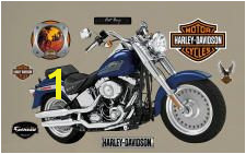 Wall Mural Decals Home Decor Accessories Harley Davidson Bike Stuff Home