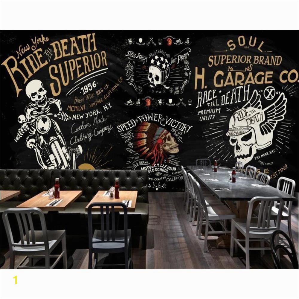 3D Skull Rider Wallpaper Mural – Skullflow
