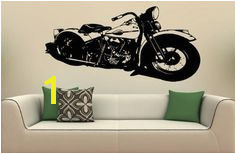 Wall MURAL Vinyl Decal Sticker 1940 Harley Davidson S 6191 by musin llc Wall Mural