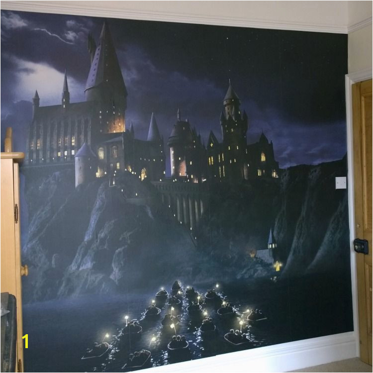First time to Hogwarts Harry Potter Wall Mural Harry Potter Pinterest