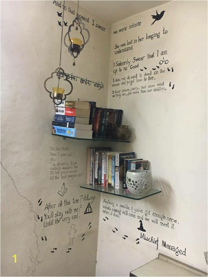 Harry Potter wall art