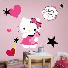 Popular Characters Hello Kitty Couture Giant Wall Decal Hello Kitty Bedroom Kids Wall Decals