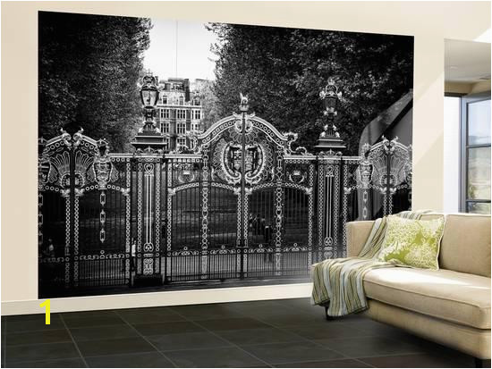 Wall Mural Gate at Buckingham Palace Green Park London UK England United Kingdom Wall Mural – by Philippe Hugonnard at AllPosters