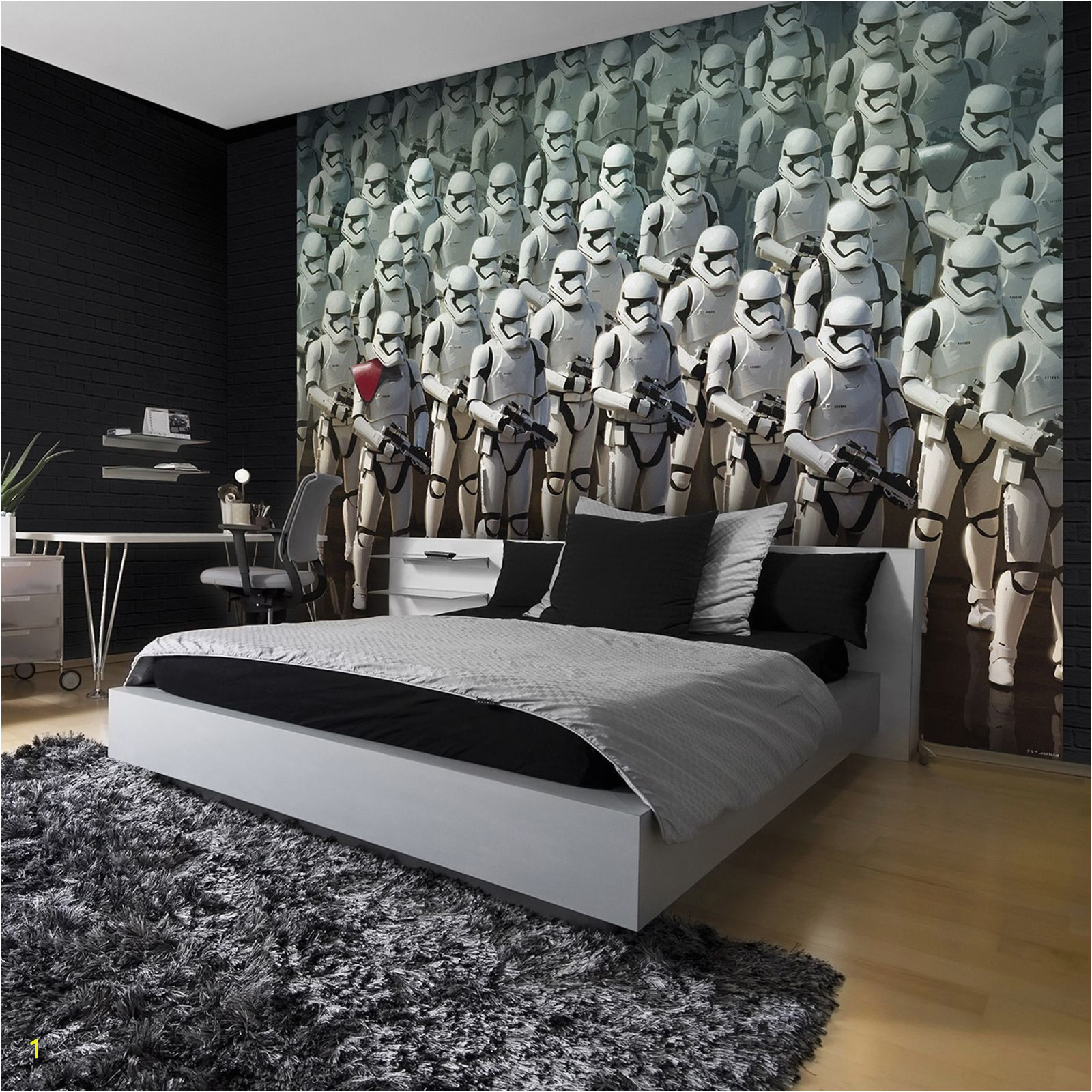 Home theater Wall Murals Star Wars Stormtrooper Wall Mural Dream Bedroom …