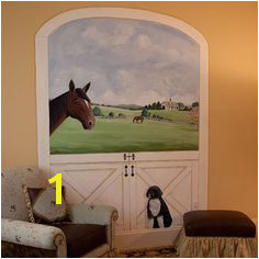 Horse Stable Mural