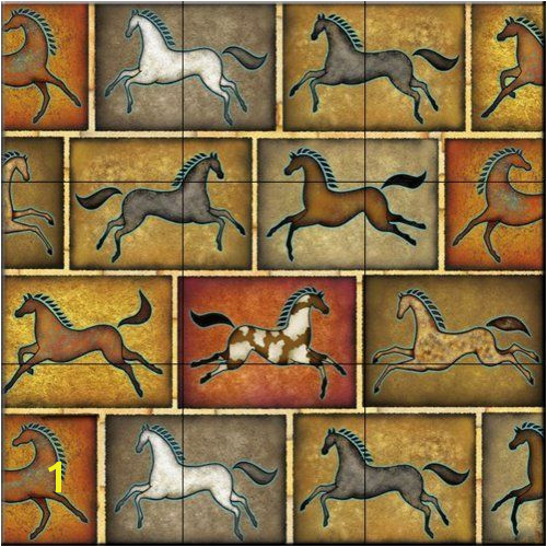Horse Tile Murals Pin by Cindy Redd On Backsplash Pinterest