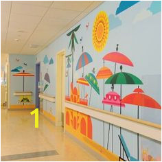 MATTEL CHILDREN S HOSPITAL PHASE 2 Room Wall PaintingMural