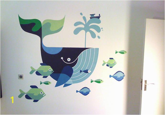 Sea Murals Ocean Mural Wall Murals Mural Infantil Mural Painting Mural
