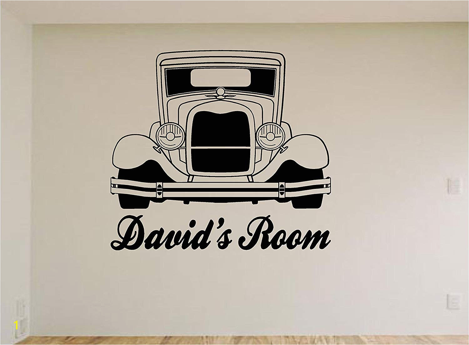 Amazon Hot Rod Car Wall Decals Stickers Mural Home Decor Man Cave Kids Room Aa11 Home & Kitchen